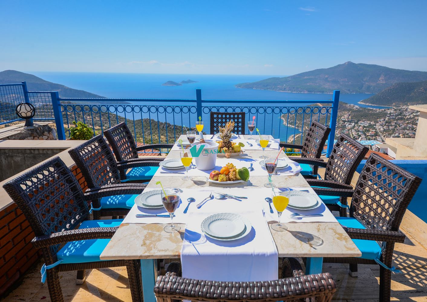 Villa Paradise Fuşya